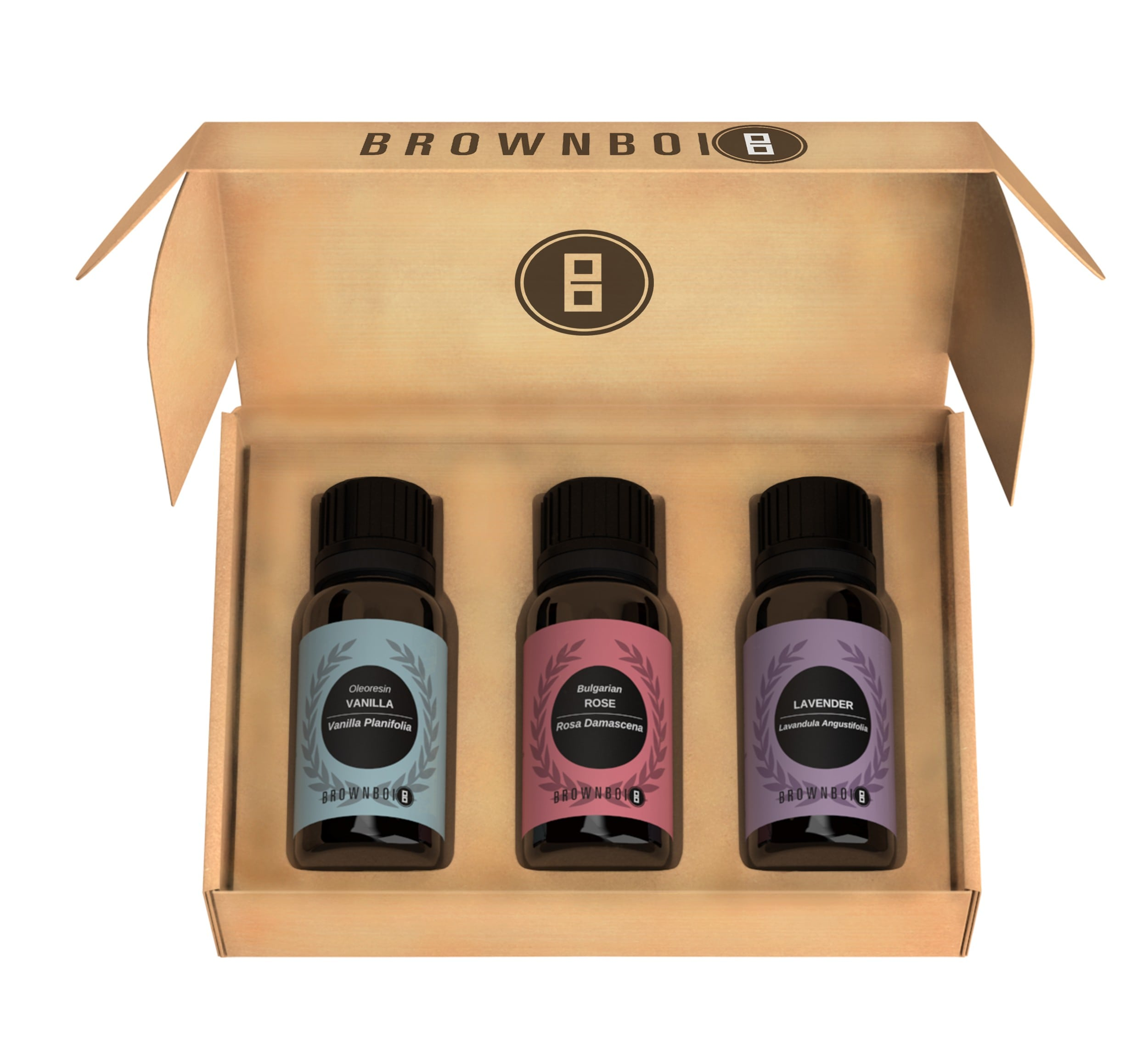 Essential Oils Combo For Bath & Body - BrownBoi