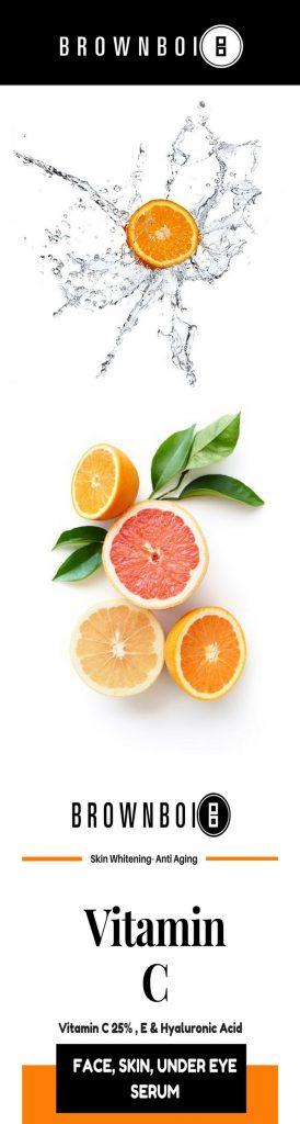 vitamin C serum BrownBoi